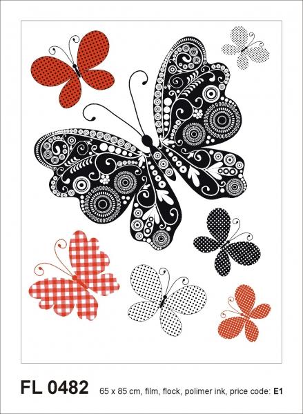 Sticker decorativ FL0482 Fluturi 0