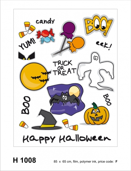 Sticker decorativ H1008 Happy Halloween!