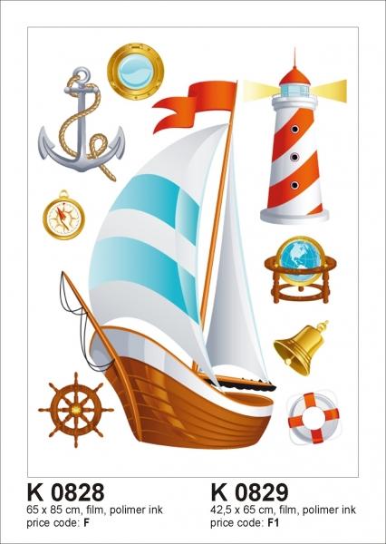 Sticker decorativ K0828 Velier 0