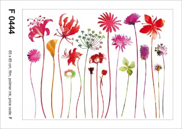 Sticker decorativ F0444 Flori de camp 0