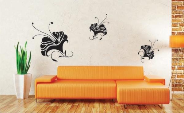 Sticker decorativ FL1017 Floral 1