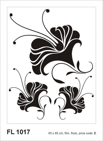 Sticker decorativ FL1017 Floral 0