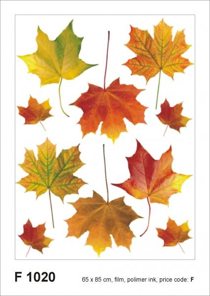 Sticker decorativ F1020 Frunze ruginii