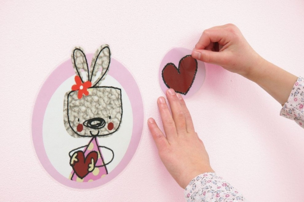 Sticker decorativ 17000 Mon Petit Coeur 2