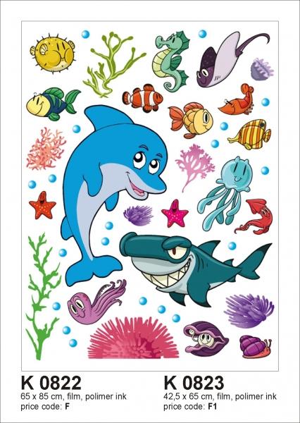 Sticker decorativ K0822 Pesti