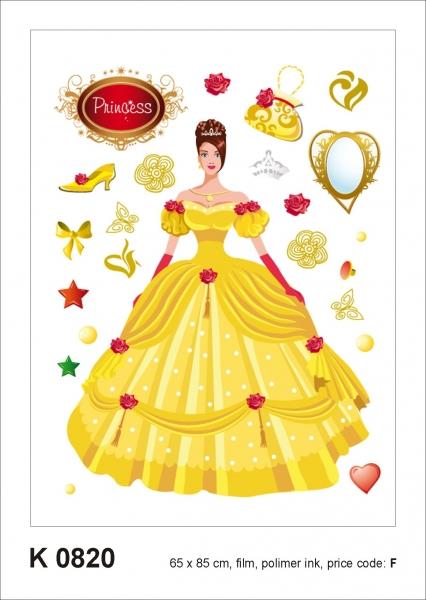 Sticker decorativ K0820 Printesa