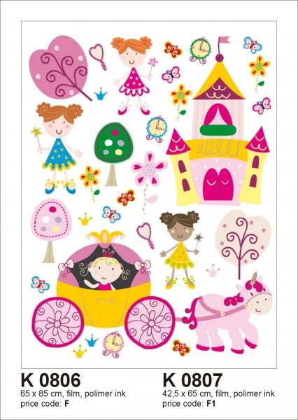 Sticker decorativ K0807 Printese 0