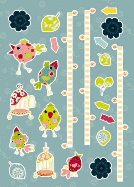 Sticker decorativ 17045 My Size 1