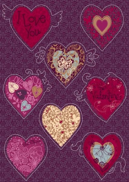Sticker decorativ 17031 Valentine 0