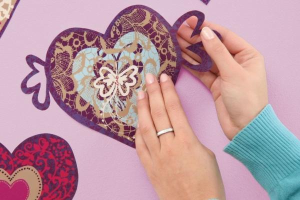 Sticker decorativ 17031 Valentine 3