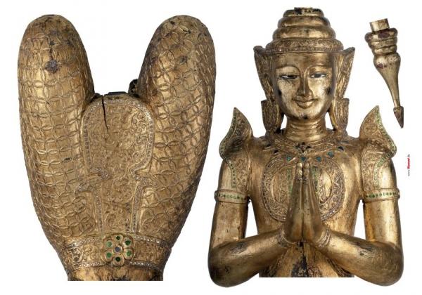Sticker decorativ 17701 Buddha 1