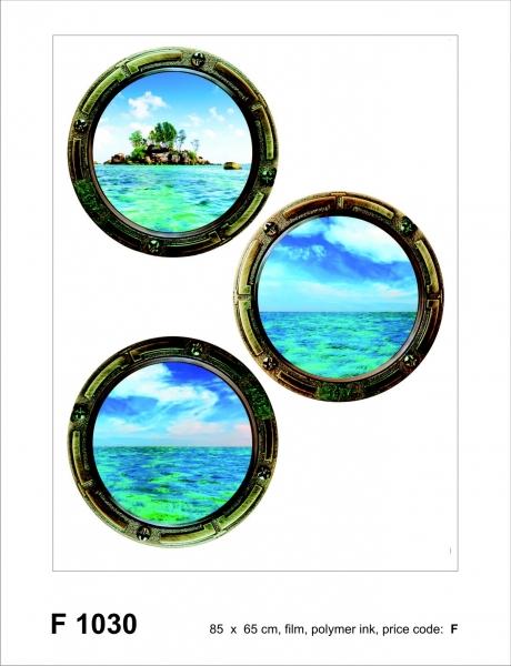 Sticker decorativ F1030 Hublouri