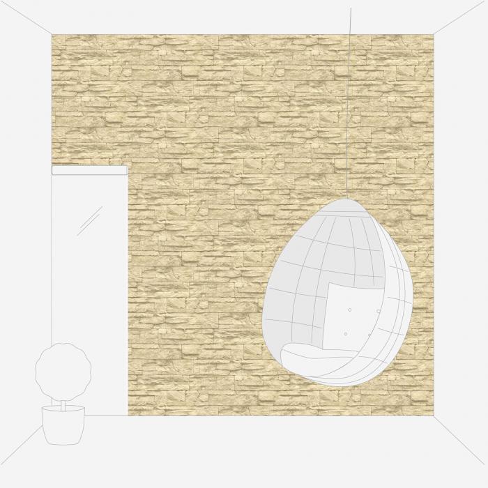 Tapet 7071-30 Wood 'n' Stone 5