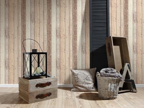 Tapet 8951-10 Wood & Stone 2