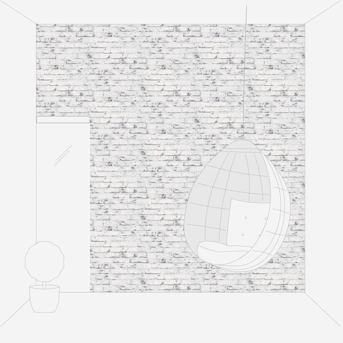 Tapet 9078-37 Wood & Stone 5
