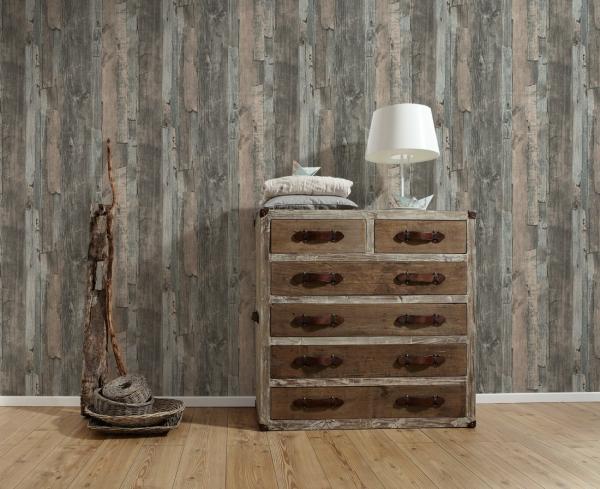 Tapet 95405-2 Wood & Stone 3