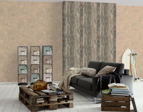 Tapet 95405-3 Wood & Stone 2