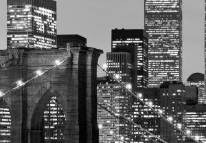Fototapet 00957 Manhattan noaptea1
