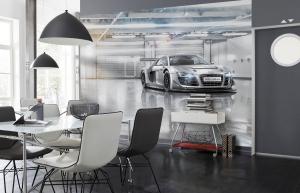 Fototapet 8-957 Audi R8 Le Mans1