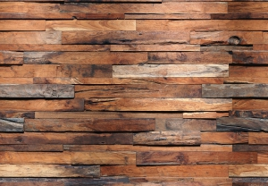 Fototapet 00150 Perete lemn