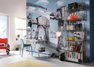 Fototapet 8-481 STAR WARS Battle of Hoth1