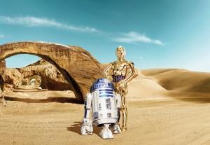 Fototapet 8-484 STAR WARS Lost Droids0