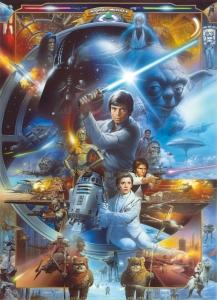 Fototapet 4-441 STAR WARS Luke Skywalker Collage0