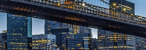Fototapet 00863 Blue Hour over NY1