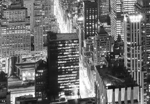 Fototapet 00956 New York - alb negru1