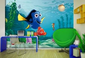 Fototapet FTDxxl 2202 Nemo & Dory1