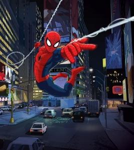 Fototapet FTDxl 1922 Spiderman in oras
