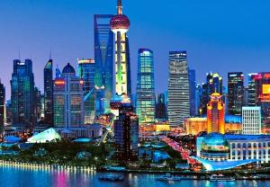 Fototapet 00135 Panorama Shanghai1
