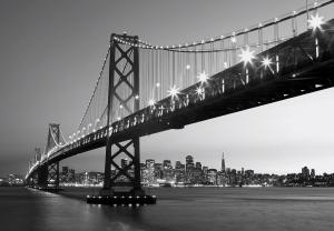 Fototapet 00958 San Francisco Skyline0