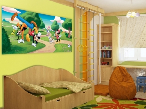 Fototapet FTDh 0623 Mickey & Goofy1