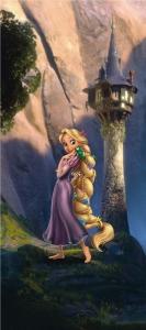 Fototapet FTDv 0232 Rapunzel