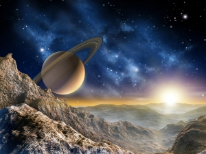 Fototapet FT 1414 Saturn0
