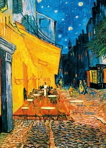 Fototapet 00420 Terasa Cafenelei Noaptea - Van Gogh0