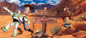 Fototapet FTDh 0627 Woody & Buzz