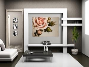 Fototapet FTM 0820 Trandafir roz1