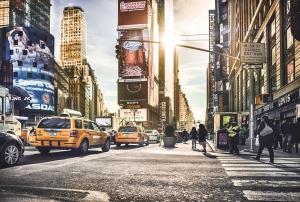 Fototapet XXL4-008 Time Square, Londra0