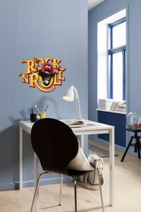 Sticker decorativ 14010 Muppets Rock'n Roll0