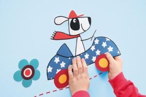 Sticker decorativ 17003 Dog's Day2