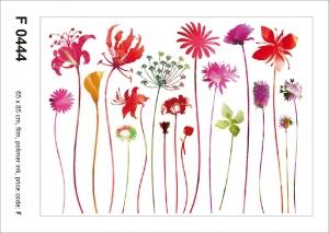 Sticker decorativ F0444 Flori de camp0