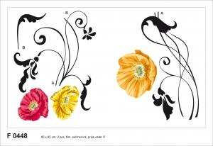 Sticker decorativ F0448 Maci0
