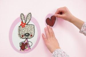 Sticker decorativ 17000 Mon Petit Coeur2
