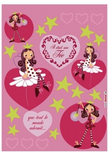 Sticker decorativ 17007 Fairy1