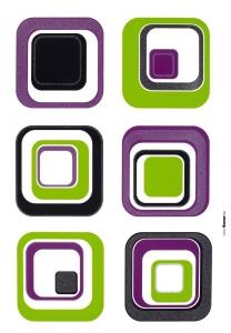 Sticker decorativ 17016 Fever1