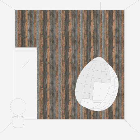 Tapet 9086-12 Wood & Stone4