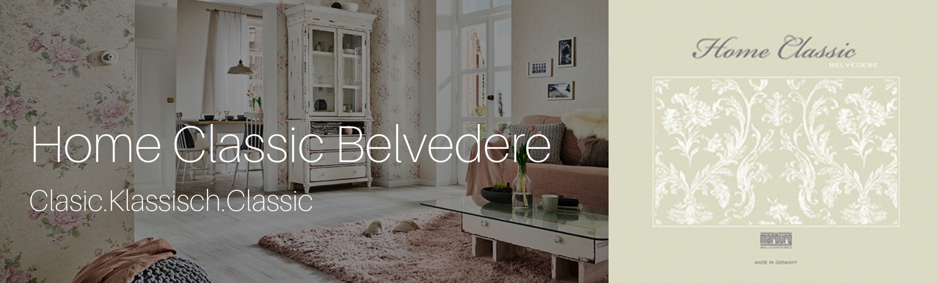 Tapet - Home Classic Belvedere