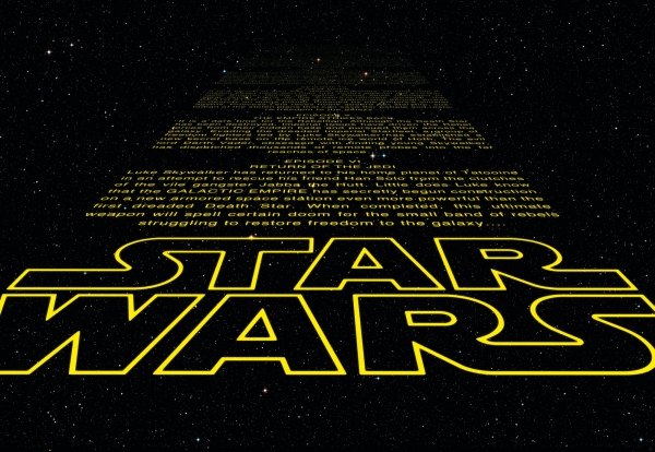 Fototapet 8-487 STAR WARS Intro